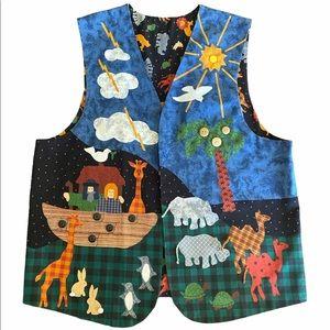 Noah's Ark Vest Sunday School UNIQUE C